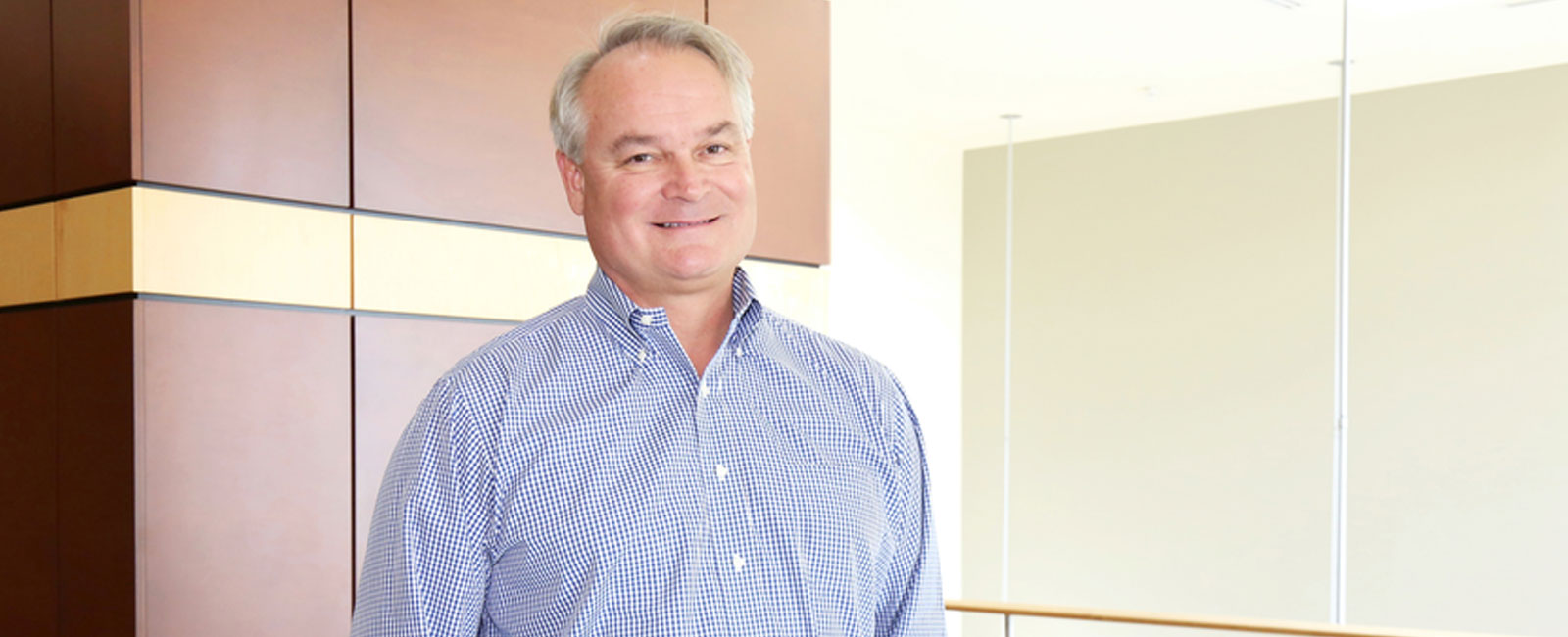 A photo of CEO/founder Dr. Michael Havig